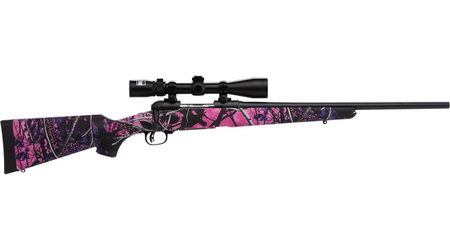 SAVAGE 11 TROPHY HUNTER XP YOUTH 243 MUDDY GIRL