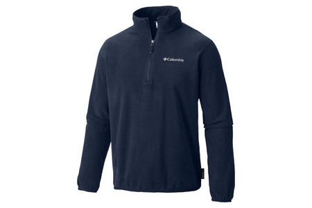 RIDGE REPEAT FLEECE HALF ZIP