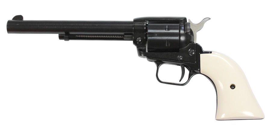 Heritage Rough Rider 22lr Rimfire Revolver With White