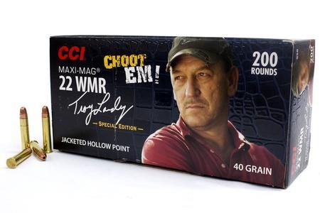 CCI 22 WMR 40 gr Maxi-Mag JHP Troy Landry Special Edition 200/Box