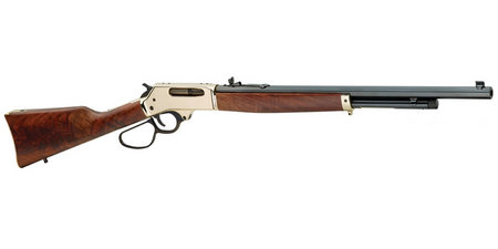 HENRY REPEATING ARMS .45-70 LEVER ACTION WITH BRASS RECEIVER