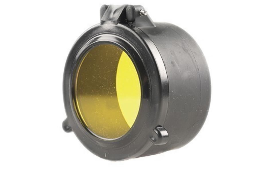BLIZZARD SEE-THRU SCOPE COVER YELLOW
