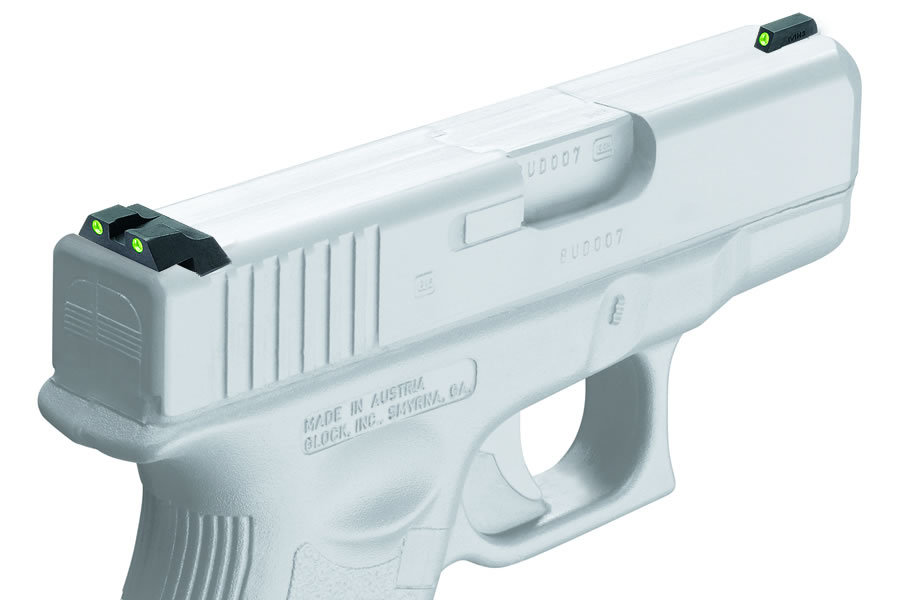 TRU-DOT NIGHT SIGHTS FOR GLOCK 26 AND 27