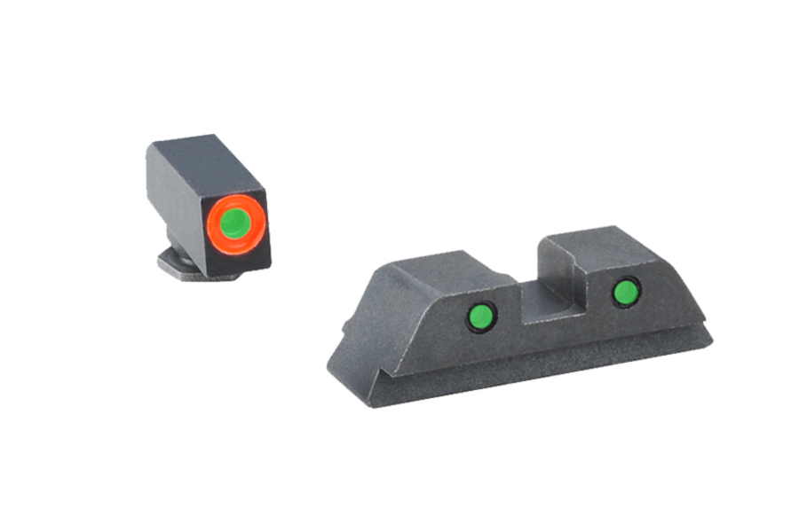 ameriglo spartan tactical night sights for glock 42 and glock 43