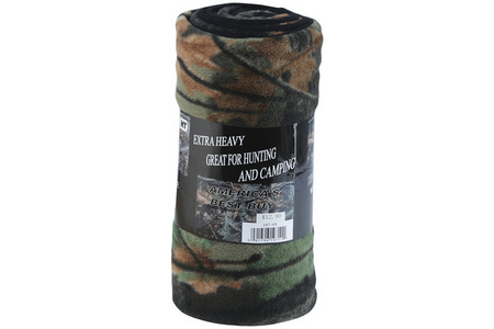SOFT TOUCH CAMO BLANKET