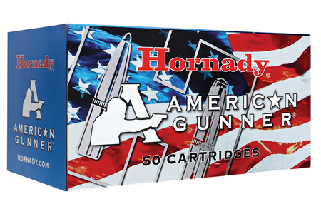 HORNADY 300 Blackout 125 gr HP American Gunner 50/Box