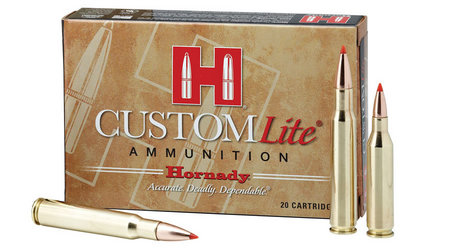Hornady 7mm-08 Rem 120 gr SST Custom Lite 20/Box