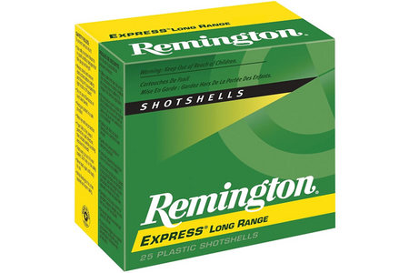 Remington 12 Ga 2 3/4 in. 1 1/4 oz 6 Shot Express Long Range 25/Box