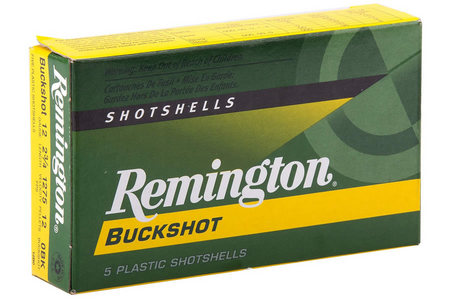 Remington 12 Ga 3 in. 4 Shot 41 Pellet Express Buckshot 5/Box