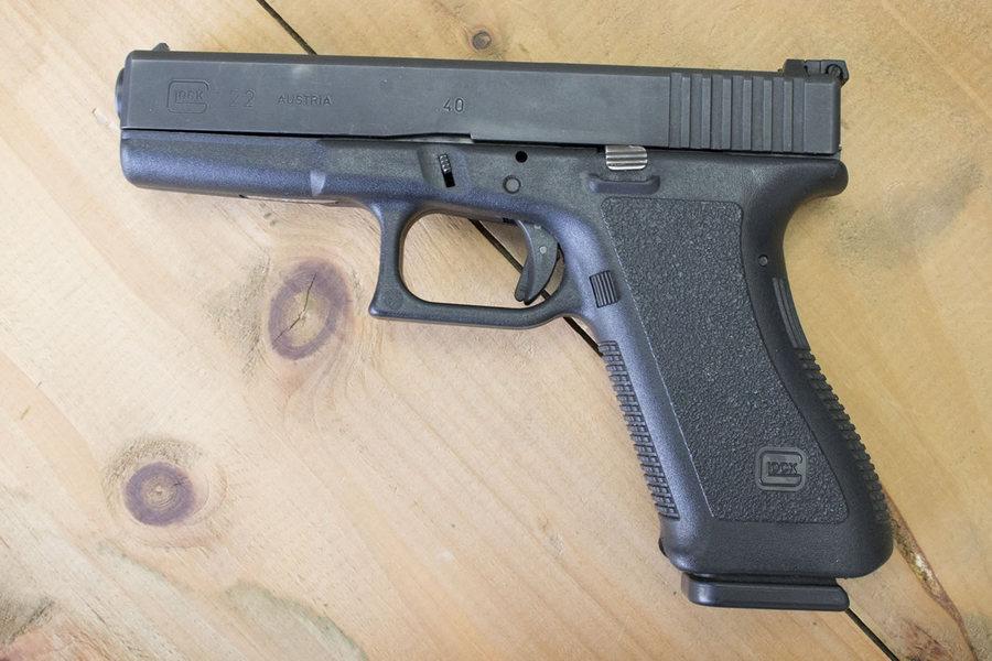 Glock 22 40 Police Trades Gen2 Sportsman S Outdoor Superstore