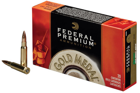 Federal 223 Rem 77 gr Sierra MatchKing BTHP Gold Medal 20/Box