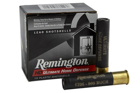 Remington .410 Ga 3 in. 000 Buckshot 5 Pellet Ultimate Defense 15/Box