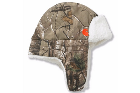 CAMO BUBBA HAT/SHERPA LINED