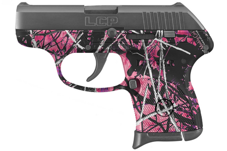 RUGER LCP 380 AUTO BLACK/ MUDDY GIRL CAMO