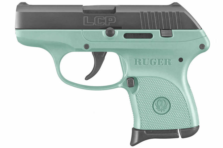 LCP 380 ACP BLACK/TURQUOISE