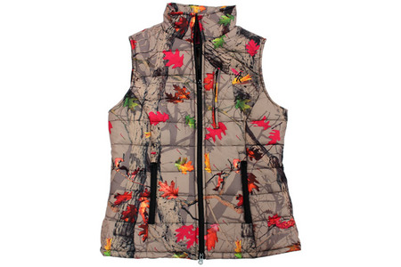 HOT LEAF QUILTED VEST