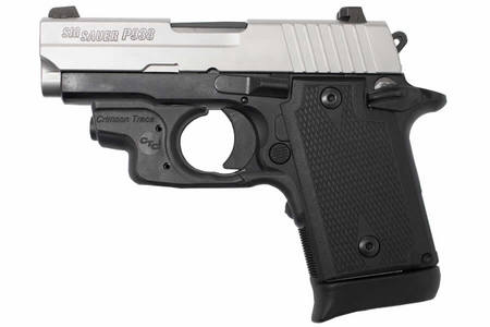 SIG SAUER P938 9MM 2-TONE WITH LASER