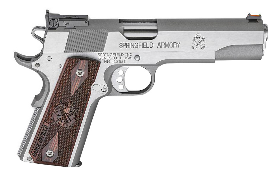 Springfield 1911 Range Officer 9mm Stainless Steel with Adjustable ...