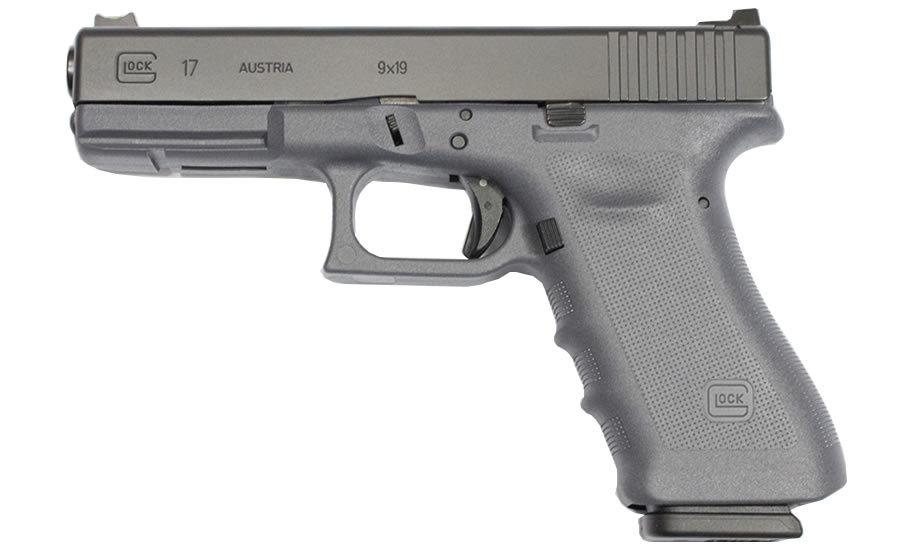 Glock 17 Gen3 RTF 9mm 17-Round Gray Frame Pistol with Vickers ...