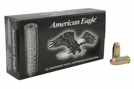 Federal 45 ACP 230 gr FMJ Suppressor 50/Box