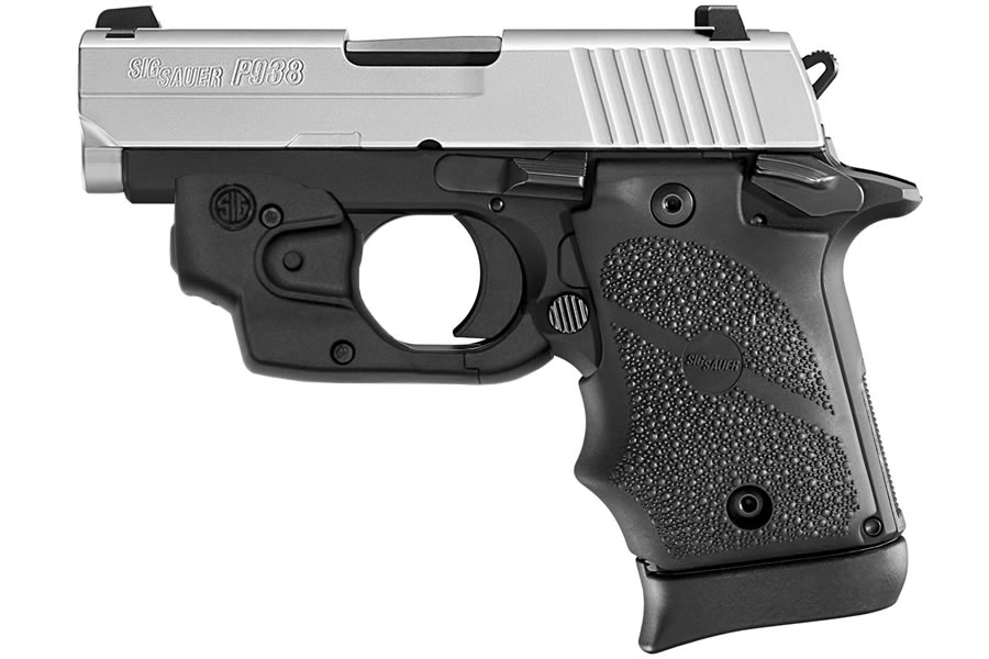 P938 BRG TWO-TONE 9MM WITH NIGHT SIGHTS