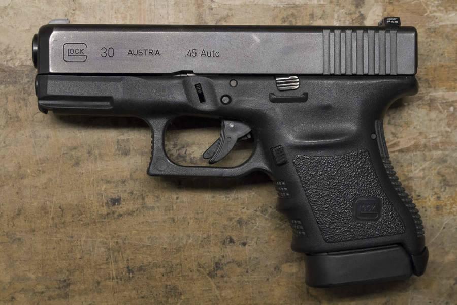 glock model 30 45 auto police trade ins gen3 sportsman s