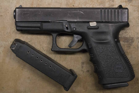 Glock 19 9mm Compliant 10-Round Police Trade-Ins (Gen 3)