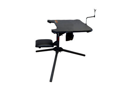 SWIVEL ACTION SHOOTING BENCH