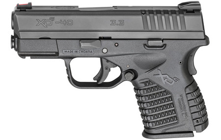 SPRINGFIELD XDS 3.3 40SW BLACK ESSENTIALS PACKAGE