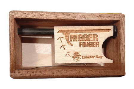 TRIGGER FINGER BOX PUSH BUTTON CALL