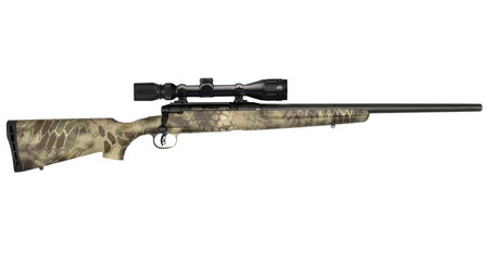 SAVAGE AXIS II 22-250 HEAVY BBL KRYPTEK 4-12X40