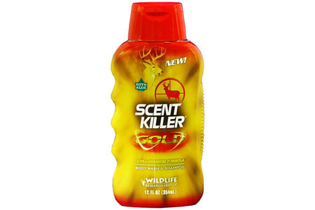 SCENT KILLER GOLD BODY WASH/SHAMPOO 12OZ