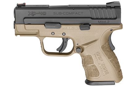 SPRINGFIELD XD MOD.2 40SW SUB-COMPACT FDE