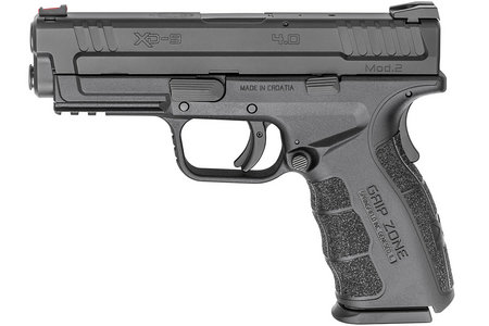 SPRINGFIELD XD MOD.2 9MM 4.0 SERVICE MODEL BLACK