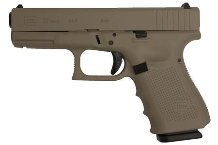 GLOCK 19 9MM MAGPUL DARK EARTH FINISH (GEN4)