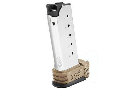 SPRINGFIELD XDS .45 ACP 6-ROUND MAG W/ FDE SLEEVES