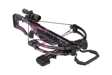LADY RAPTOR FX PINK CROSSBOW PACKAGE