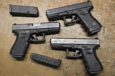 Glock 19 Gen3 9mm Police Trade-ins (Good Condition)