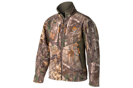 COVERT DELUXE WINDPROOF FLEECE JACKET