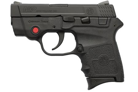 Smith & Wesson M&P Bodyguard 380 ACP Crimson Trace with No Manual Safety