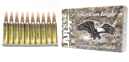 FEDERAL AMMUNITION XM193 5.56mm 55 gr FMJ 30/Box