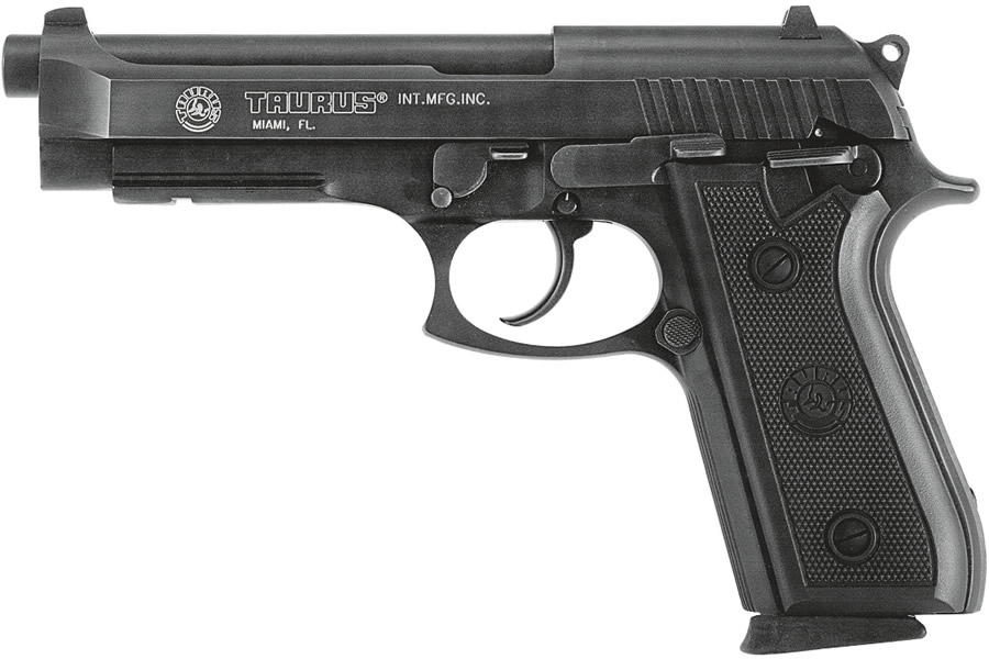 taurus model 92 9mm semi auto pistol with accessory rail rh sportsmansoutdoorsuperstore com