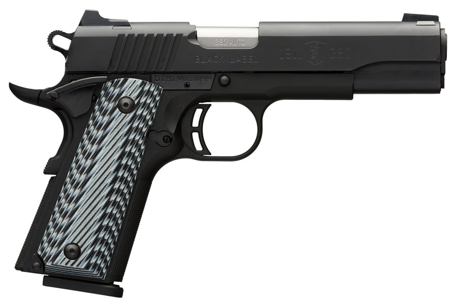 1911-380 BLACK LABEL PRO W/ NIGHT SIGHTS