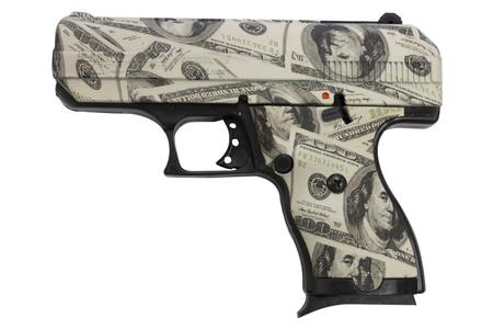 HI POINT C9 9MM WITH HUNDRED DOLLAR BILL FINISH