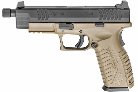 SPRINGFIELD XDM 9MM 4.5 FDE WITH THREADED BARREL