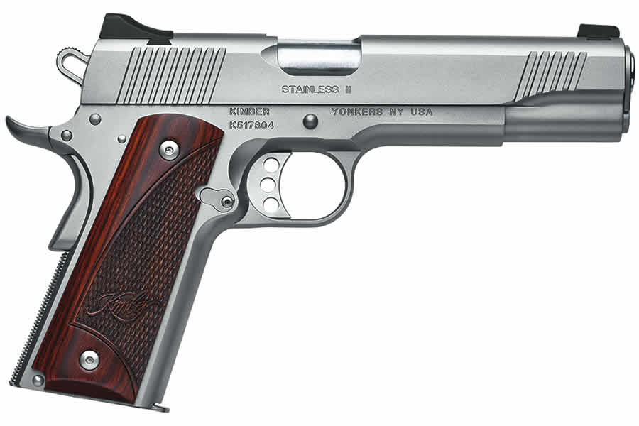 STAINLESS II .45 ACP