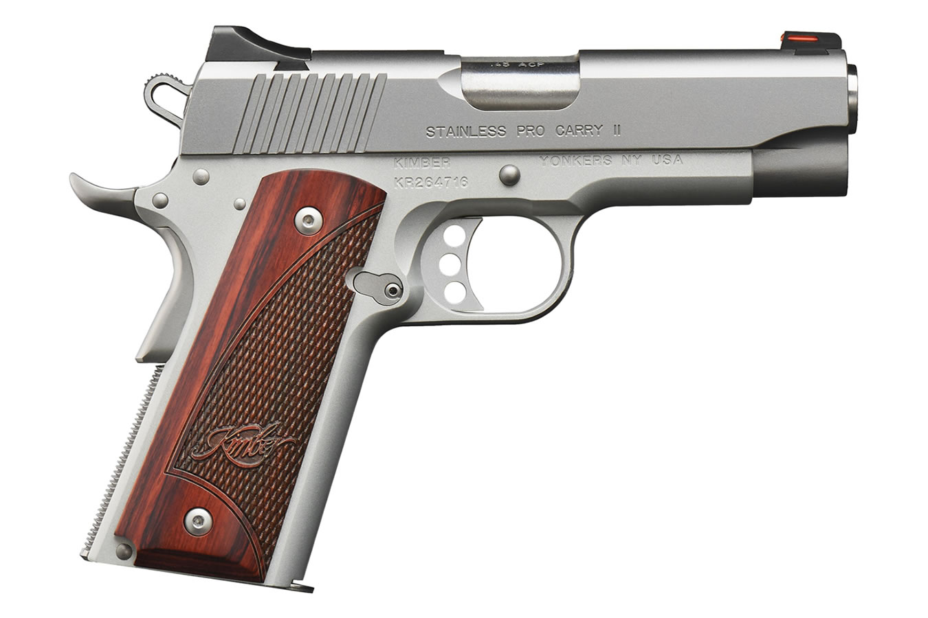 No. 17 Best Selling: KIMBER STAINLESS PRO CARRY II .45 ACP