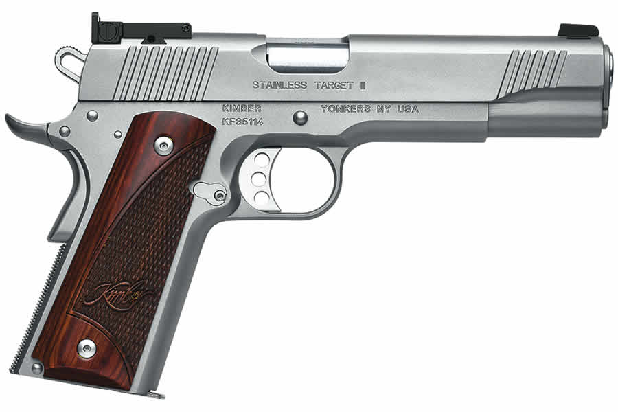 Kimber Stainless Target II 9mm Luger | Sportsman's Outdoor ...