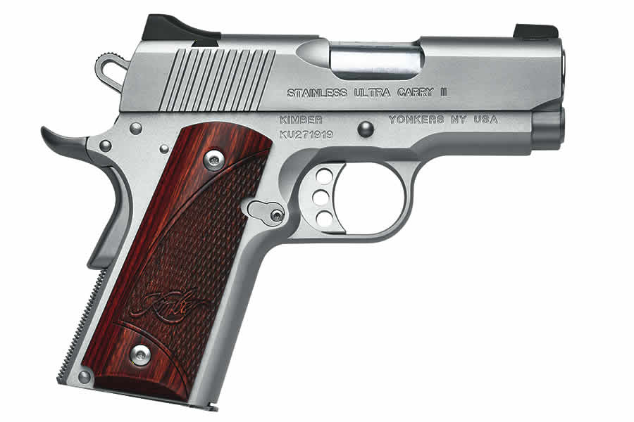STAINLESS ULTRA CARRY II .45 ACP