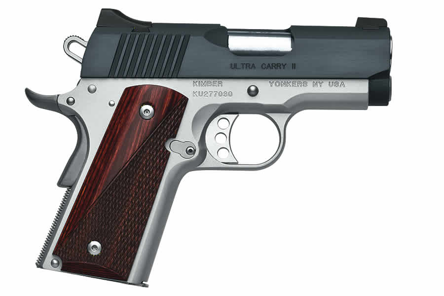 No. 7 Best Selling: KIMBER ULTRA CARRY II TWO-TONE 9MM